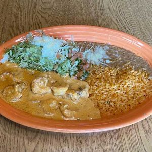 camarones al chipotle - shrimp